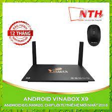 Tặng chuột] Android Tv Box Vinabox X9 [ĐƯỢC KIỂM HÀNG] 19258891 - 19258891