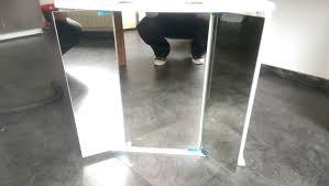 Gebraucht Badezimmerschrank/Spiegelschrank mit Lampe in 66996 ...