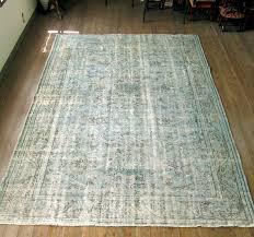 hizhali rug overdyed