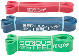 serious steel 41 isted pull up band resistance