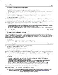 One Employer Resume Sample Sales Manager Resume Sample Page 2 Job