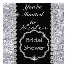 the 25 best bling bridal showers ideas on pinterest bling party Zazzle Bling Wedding Invitations bling bridal shower with crystals invitation Elegant Wedding Invitations