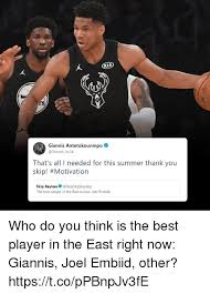 Summer Thank You Rs Giannis Antetokounmpo Thats All I Needed For This Summer Thank
