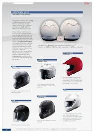 Arai Astro Light Helmet Arai Helmet Brochure 2012 By Arai Helmet Europe B V Issuu