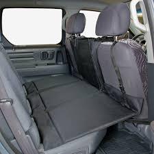 vehicle pet back seat extender dog platform car bridge truck cover suv barrier