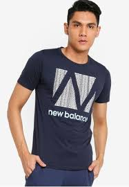 Buy New Balance <b>Graphic Heathertech Tee</b> Online | ZALORA ...