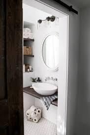 DIY Floating Sink Shelf