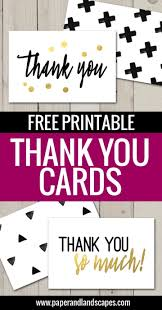 free thank you card template for teachers
