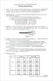 20a Plug Wiring 4 Prong Twist Lock Plug Wiring Diagram 110