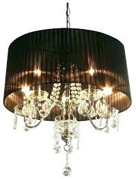 black shade crystal chandelier black shaded chandelier chandelier with black shades crystal drop chandelier with shade