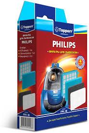 <b>Topperr FPH</b> 86 комплект <b>фильтров</b> для пылесосов Philips