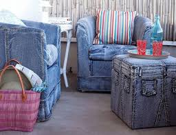 how to make furniture covers. source recycled jeans sofa cover how to make furniture covers