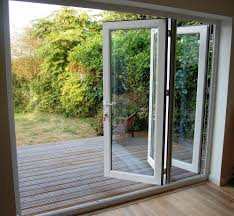 image of patio folding glass doors