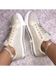 <b>Fashionable</b> rhinestone flat women's shoes 24215429 ...