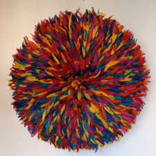modern juju hats once intended only for carnivals became stylish wall decoration that create unusual and modern home interiors adding excitement