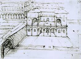 architectural building sketches. Architectural Studies For A City On Several Levels Building Sketches