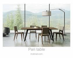 ici furniture. It Has Been Introduced At #HPMKT Spring 2016 | Cliquez Ici Pour Voir La Table Pari De Mobican: Http://mobican.com/pari/ #mobican #table #diningroom Furniture