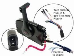 amazon com remote control msc4k sd mt 15 foot harness & p t by Johnson Wiring Harness Diagram amazon com remote control msc4k sd mt 15 foot harness & p t by mercury sports & outdoors johnson outboard wiring harness diagram