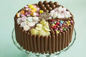 Pick Mix Chocolate And Sweet Cake Dessert Recipes Goodtoknow