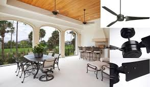 emerson ceiling fans cf765bq loft modern indoor outdoor ceiling fan with wall control 90s
