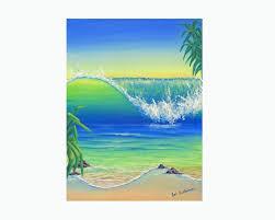 surf art marine art ocean art beach painting original acrylic painting canvas wall art australia beach house wave painting water painting