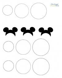 mickey head template printable free printable mickey mouse ears template download free clip art