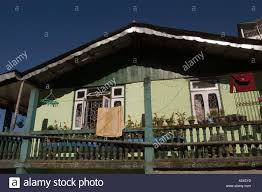 Old Small Apartment House In Darjeeling West Bengal India Stock - Small old apartment