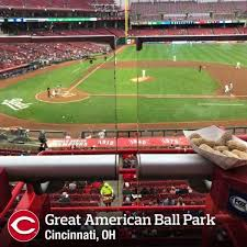 Great American Ball Park Section 301 Home Of Cincinnati Reds