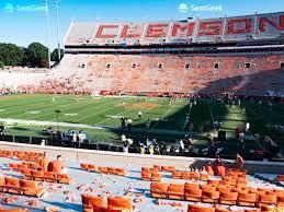 Clemson Memorial Stadium Ub Seat Views Seatgeek