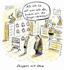 Bremische Bürgerschaft Bh Shoppen Mit Oma Komische Kunst über Die