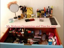 Organize Your Makeup Using Things From Around Your House + My Makeup  Organizing