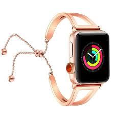 <b>Women Bracelet</b> Watch Strap For <b>Apple</b> Watch 38 - Gold - Live Stores