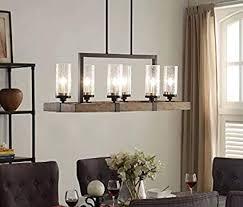 wood and metal lighting vineyard 6 light metal and wood chandelier vineyard metal and wood lighting