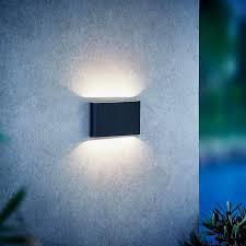 outdoor black wall light kinver ip54