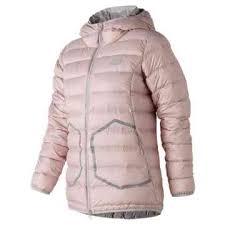 new balance puffer jacket. new balance 247 luxe down jacket, faded rose puffer jacket b
