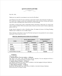 Letters Of Quotation Fresh Sample Price Proposal And Quotation ...