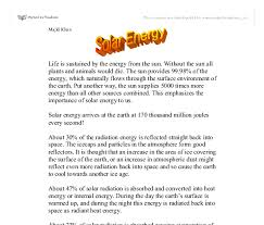 essays on renewable energy sample college admission essay on  energy essay renewable energy essay