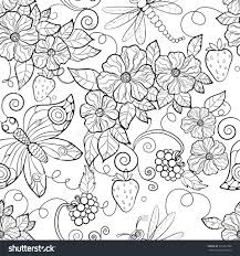 Small Picture Coloring Pages Enchanting Flowers Coloring Pages For Adults