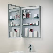 Glamorous Bathroom Mirror Doors Mirrored Cabinet Traditional With