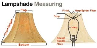How to measure lamp shade Pick Harp Height Shade Shape Size Larger Lamp Bases Require Larger Shades Square Bases May Look Pinterest Lamp Shades The Ultimate Buyers Guide Ill Look It Up