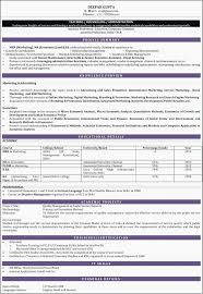 Resume Sample For B Graduates Indian Resume Format For Freshers