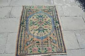 size x cm ft small turkish rug vintage carpet home decor area rugs muted small rug vintage handwoven door mat entry bedside turkish