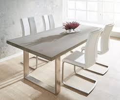 Esstisch Holz Grau