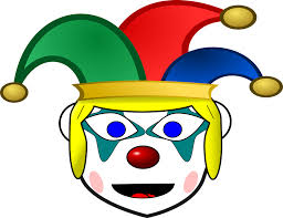 Image result for clown waving