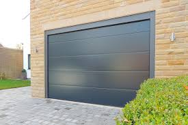 anthracite l rib single garage door doors26 garage