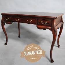 tables for home office. Solid Mahogany Wood Desk Table Home Office Antique French Provincial Style Tables For