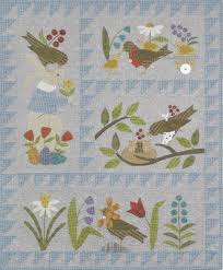 Kaye Moore Quilt Patterns & Kits & Kaye Moore Quilt Patterns, Bertie's Spring Adamdwight.com