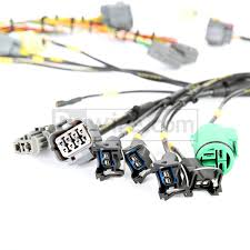 obd1 mil spec d & b series tucked engine harness Auto Wire Harness 3 Wire Harness Connector #19