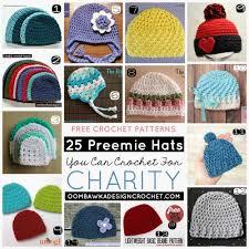 Crochet Preemie Hat Pattern Interesting 48 Preemie Hats You Can Crochet For Charity Oombawka Design Crochet
