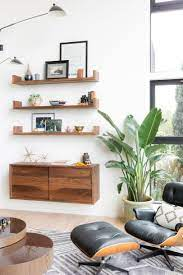 how to decorate a large blank wall
